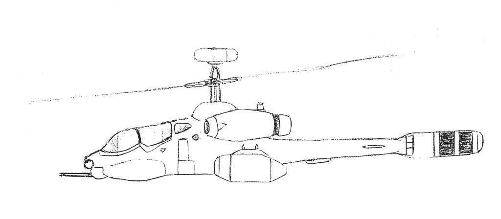 Bell Rah 71 Algonquin Scout Attack Helicopter Mecha Journal