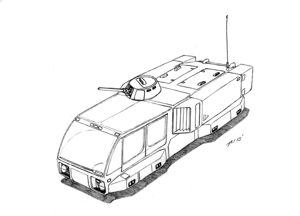 AHT-1 Tactical Armored Hover Transport