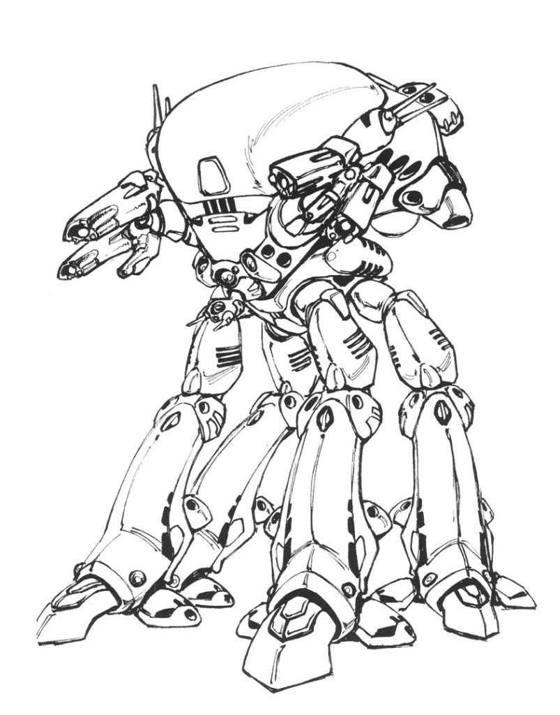 Armored Walker Type 1, Jisaina Li