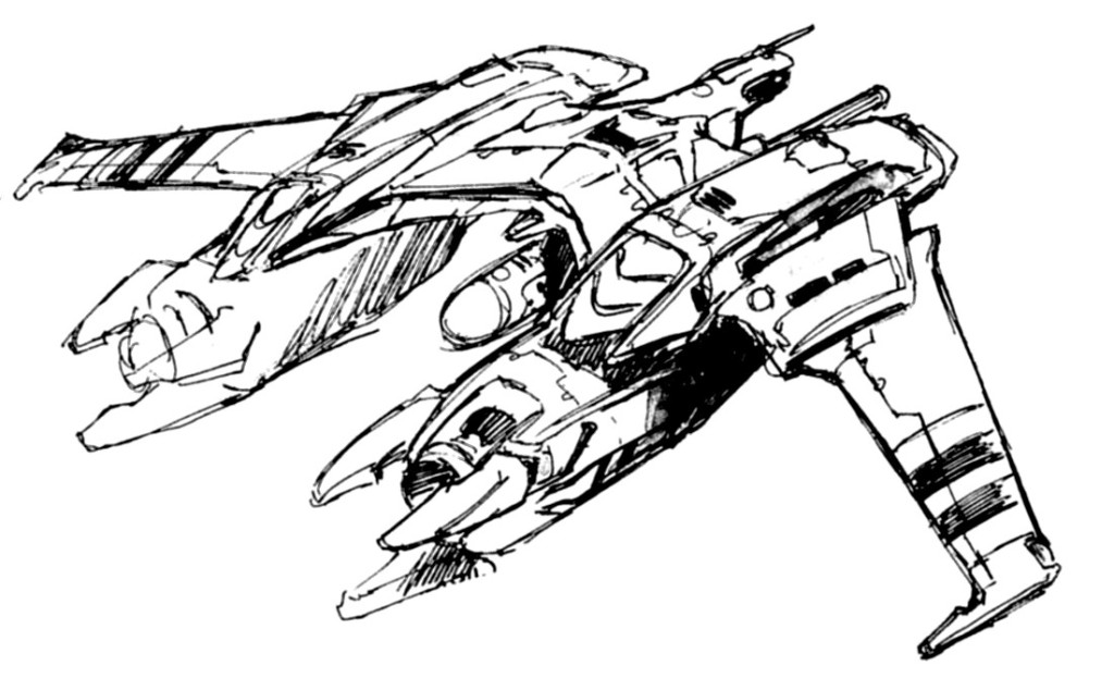 DREAD2 Intrasystem Aerospace Gunship 2