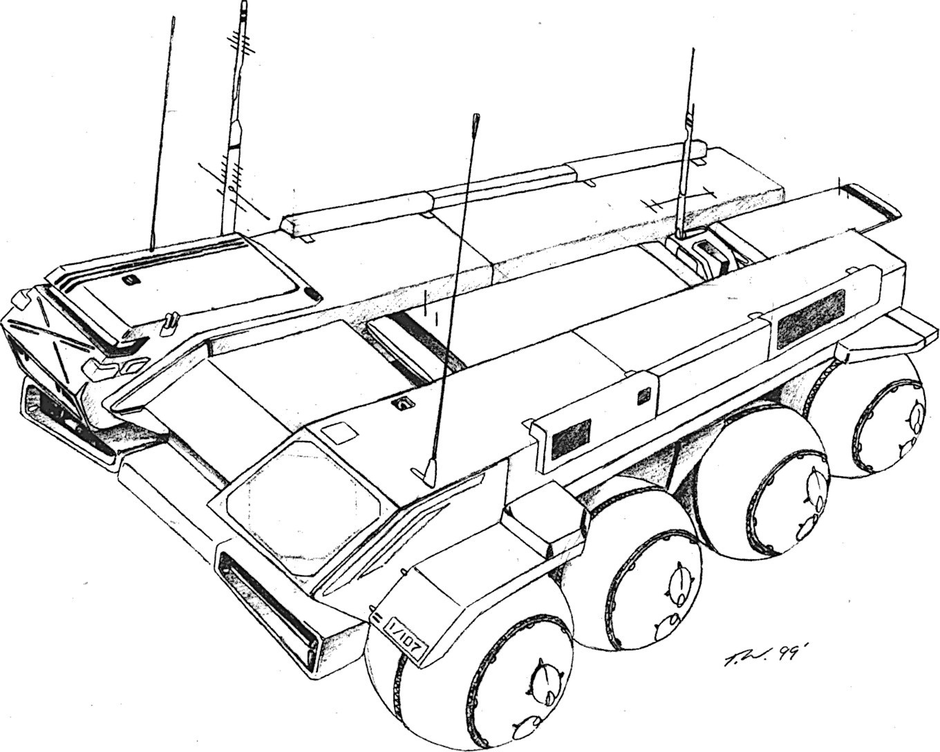 december 2015 mecha journal page 5 105Mm Howitzer Model gmcu airborne mand and control early warning aerospacecraf 2