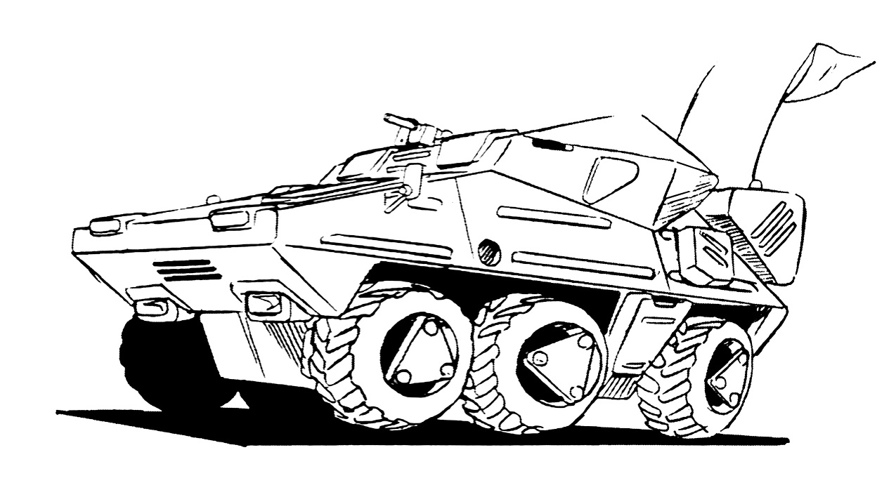 M-120 Armored Infantry Vehicle 1