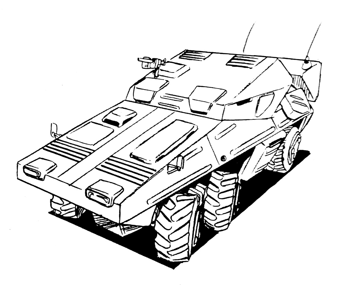 M-120 Armored Infantry Vehicle 2