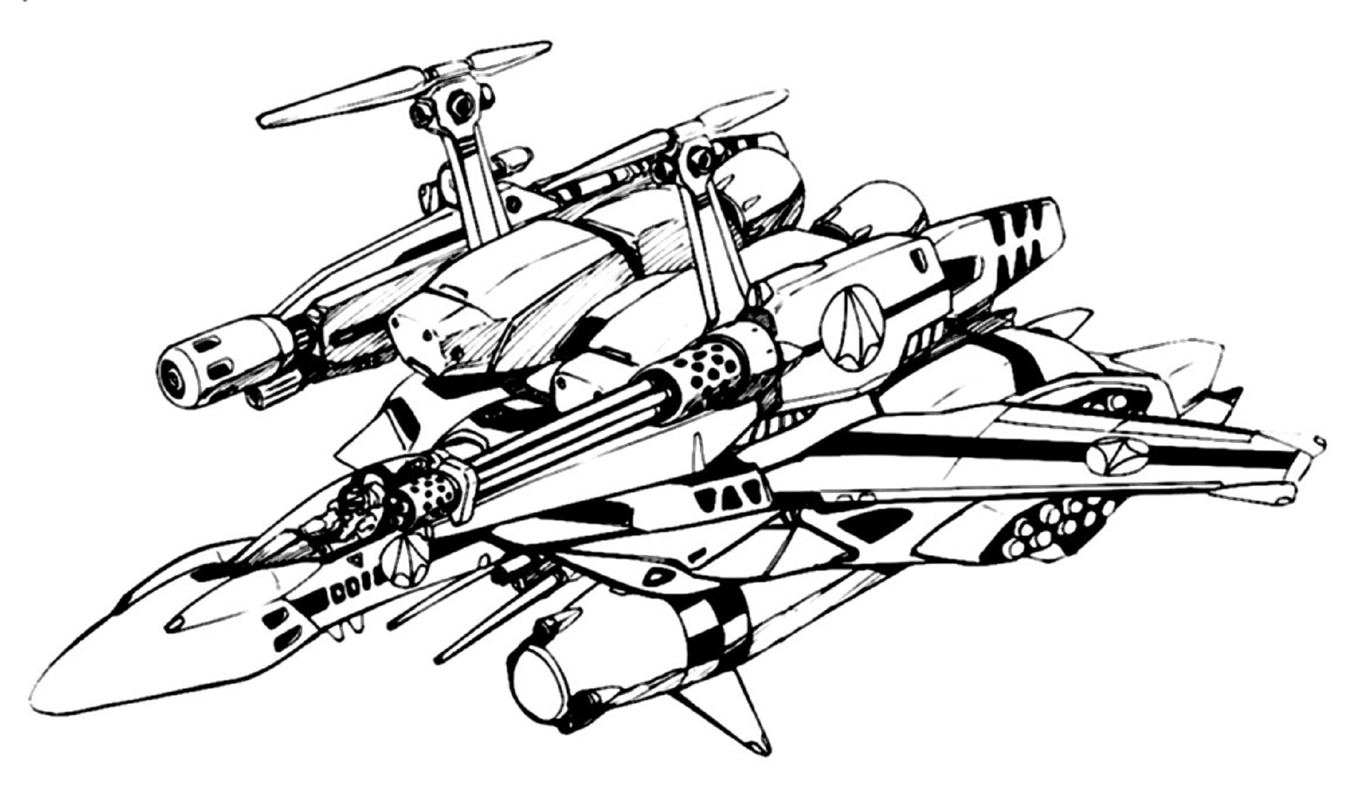 SDP-1A Stampede Fighter 1