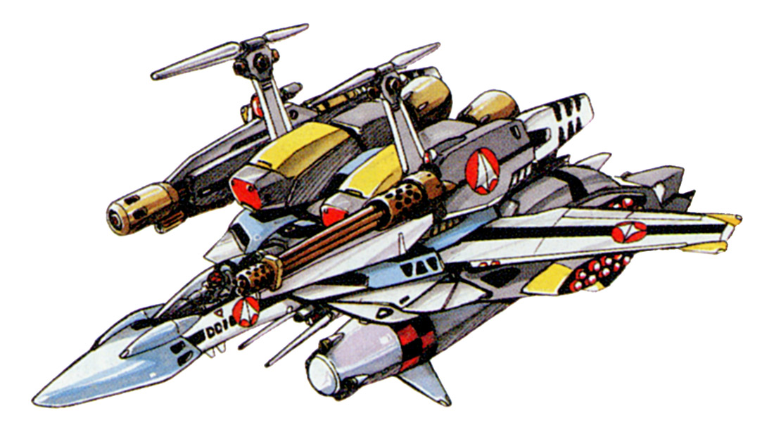 SDP-1A Stampede Fighter 4