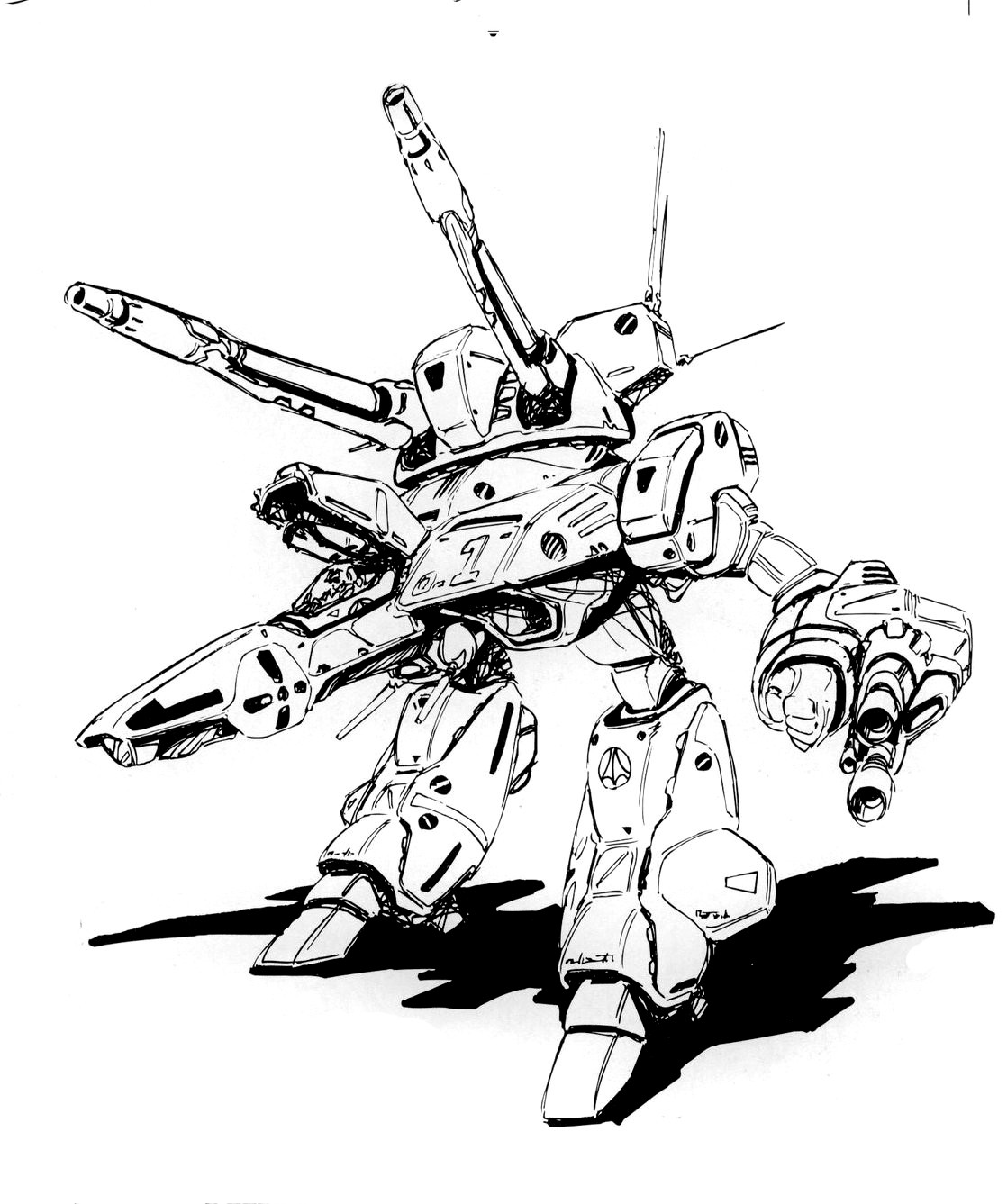 VF-1 Valkyrie Armored GERWALK