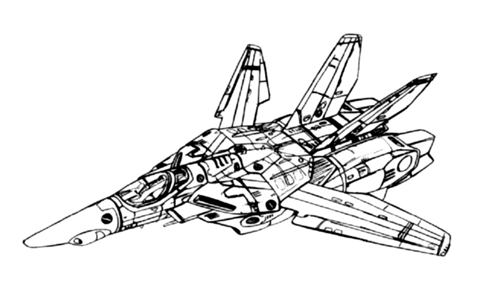 VF-1J Block 1 Valkyrie Fighter 1