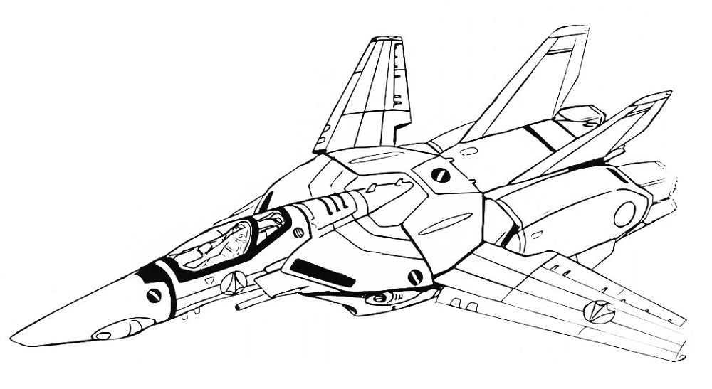 VF-1J Block 4 Valkyrie Fighter 1