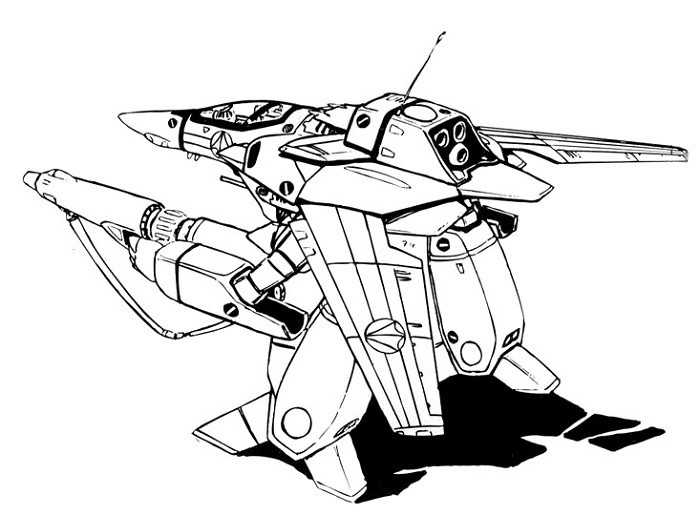 VF-1J Block 4 Valkyrie GERWALK 2