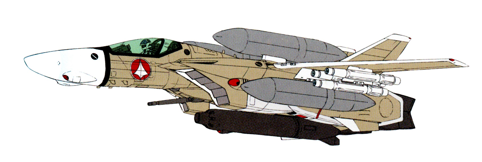 VF-1A external fuel tank