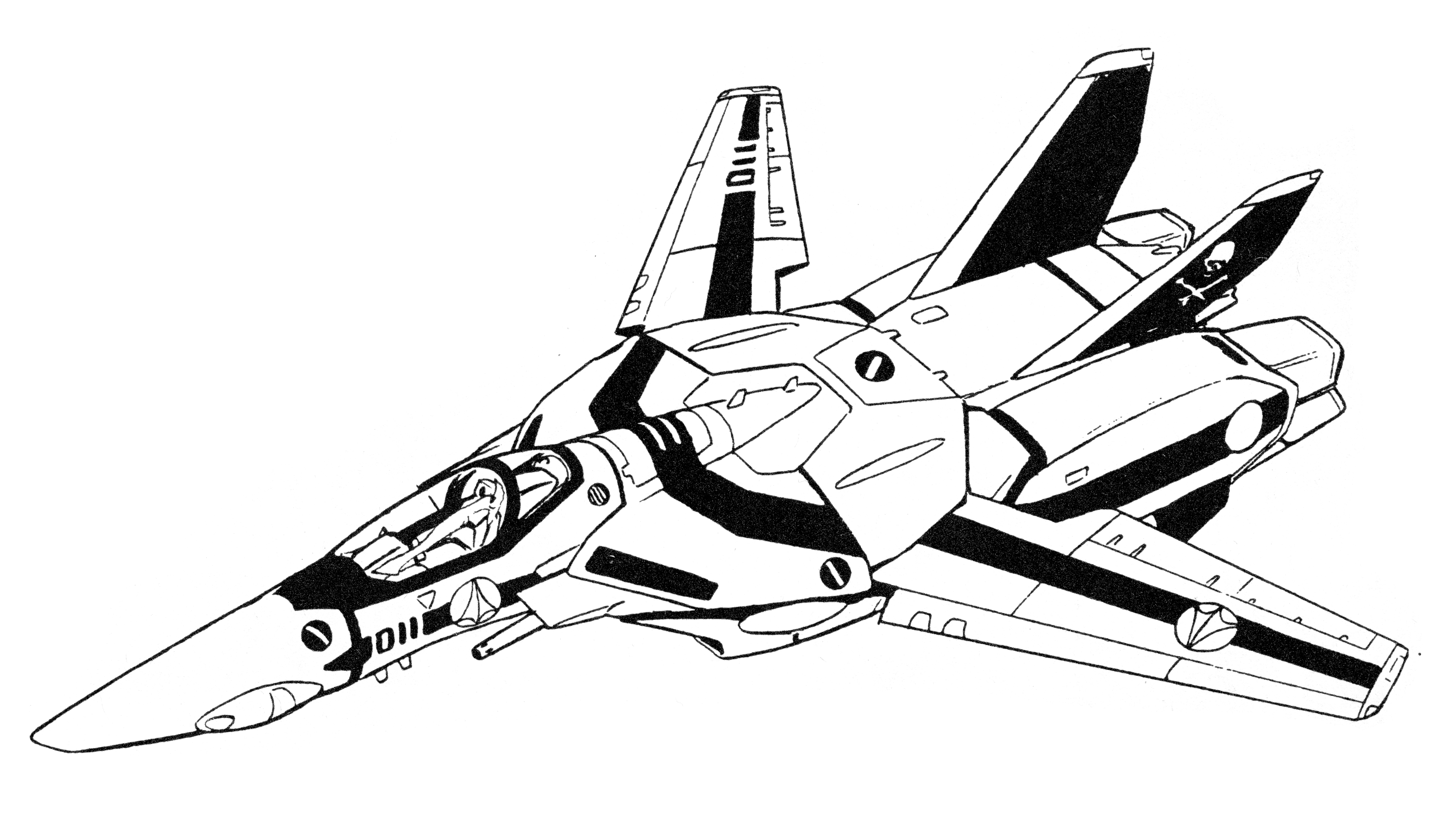 VF-1N Valkyrie Fighter 1