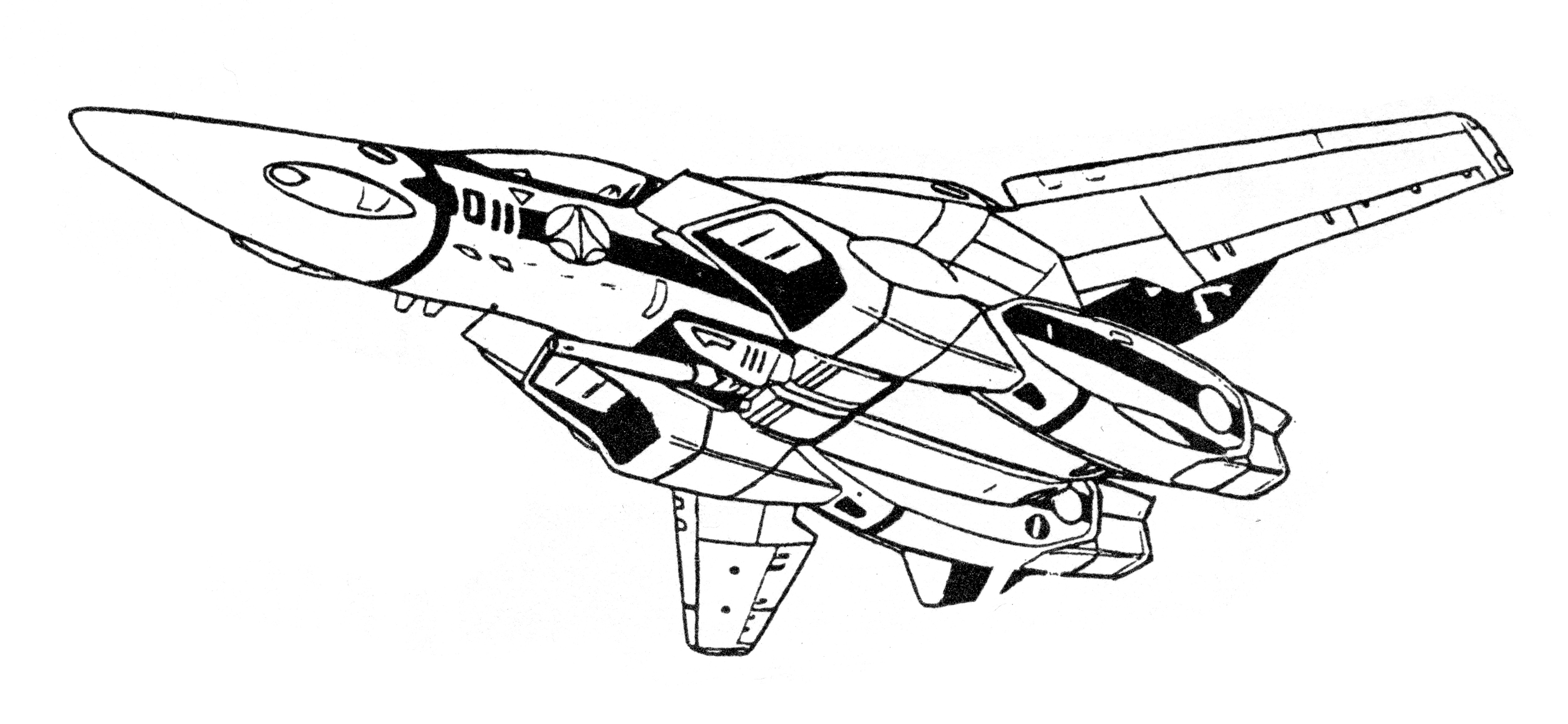 VF-1N Valkyrie Fighter 4