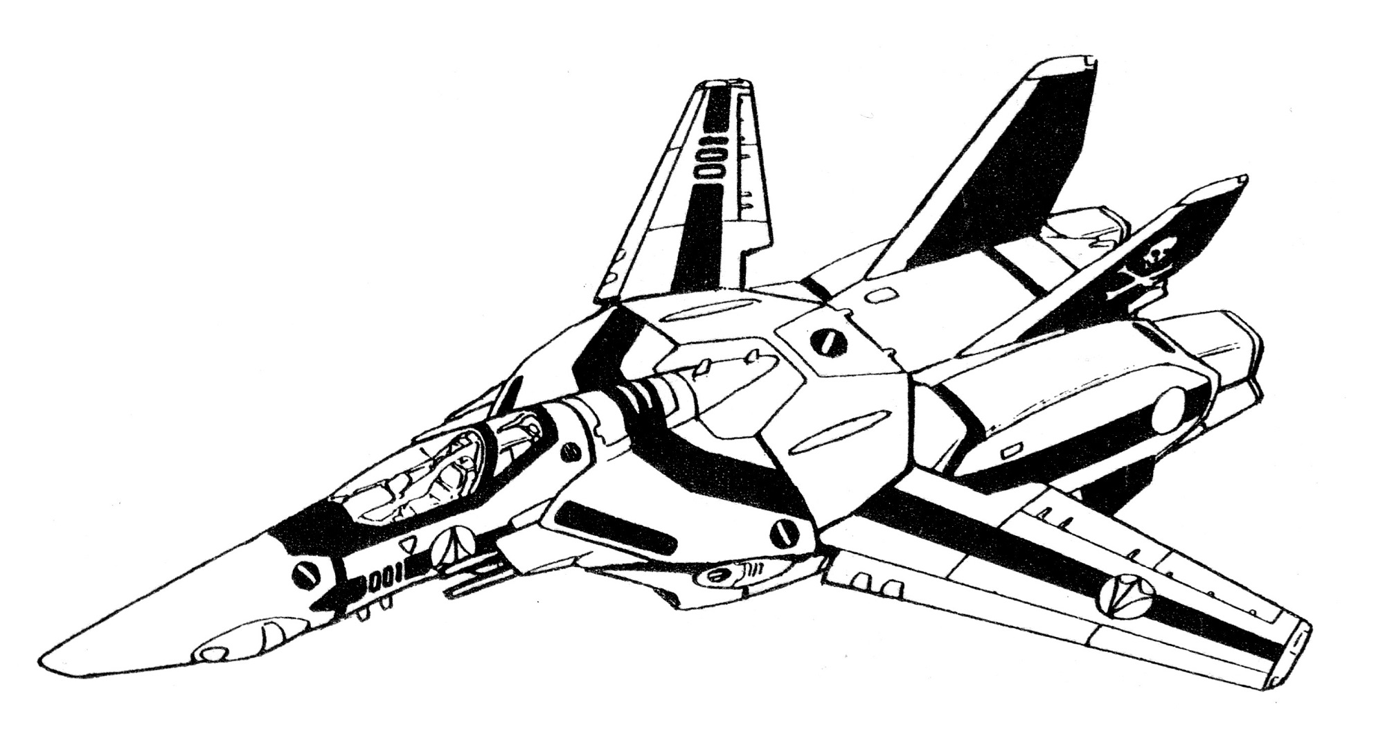 VF-1S Block 1 Valkyrie Fighter 1