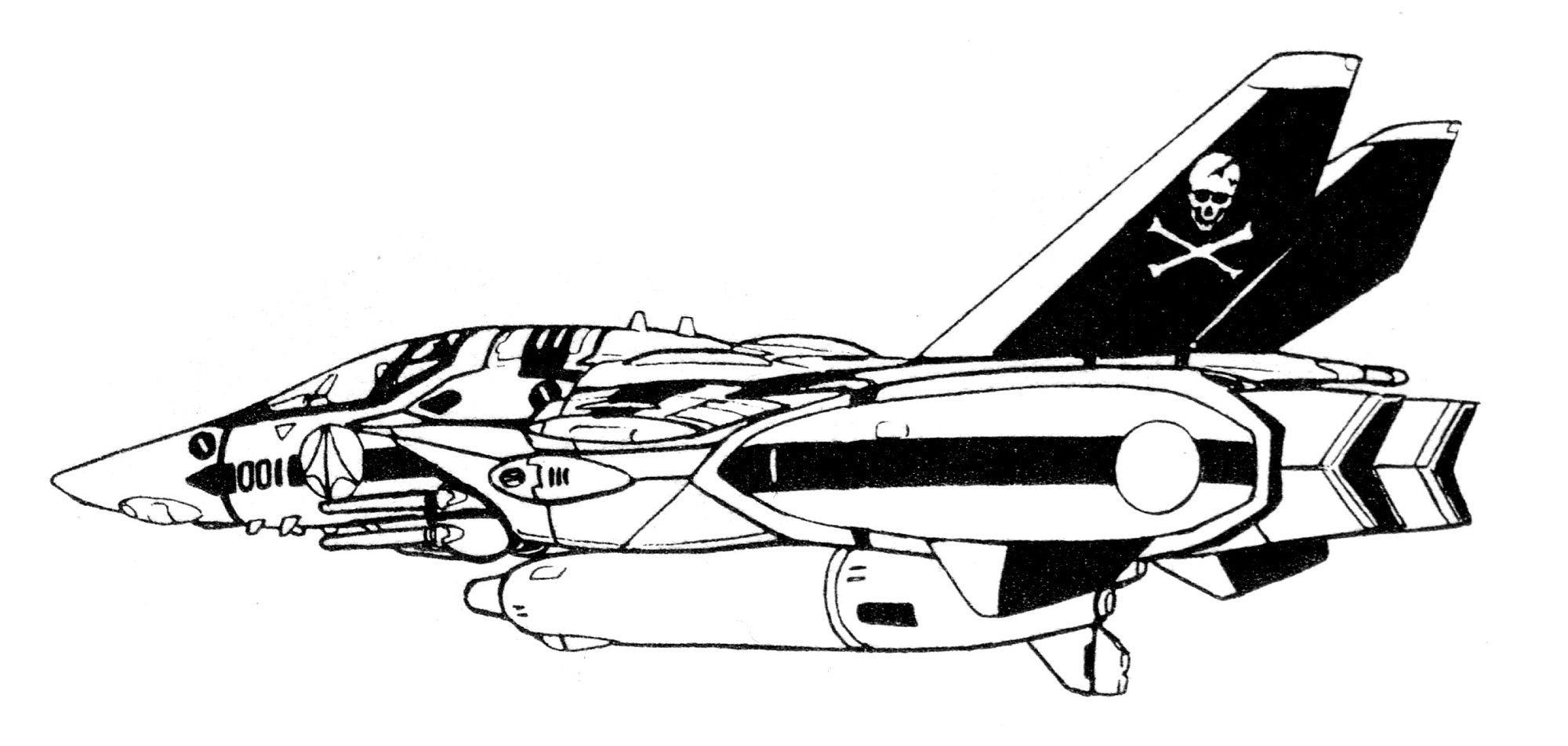 VF-1S Block 1 Valkyrie Fighter 15