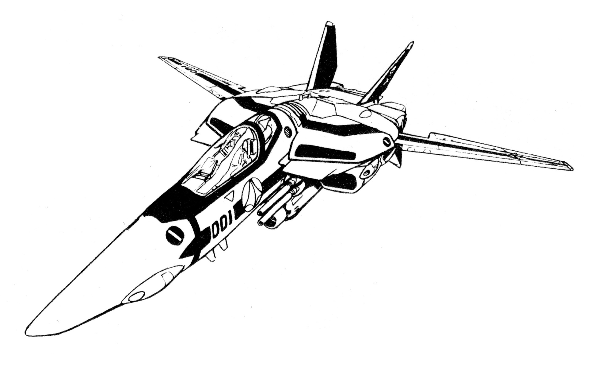VF-1S Block 1 Valkyrie Fighter 4