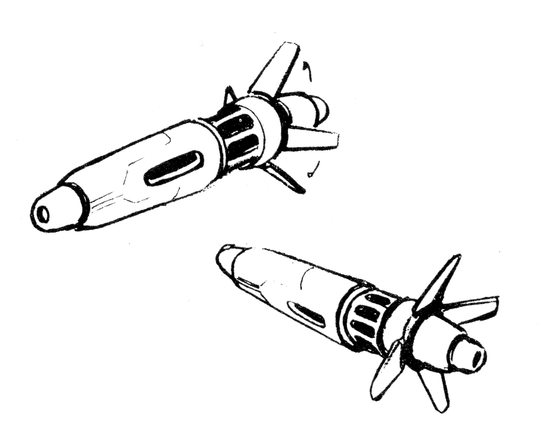 A-FP2 Gnerl Fighter Pod Aerospace Fighter Attack Plane 18