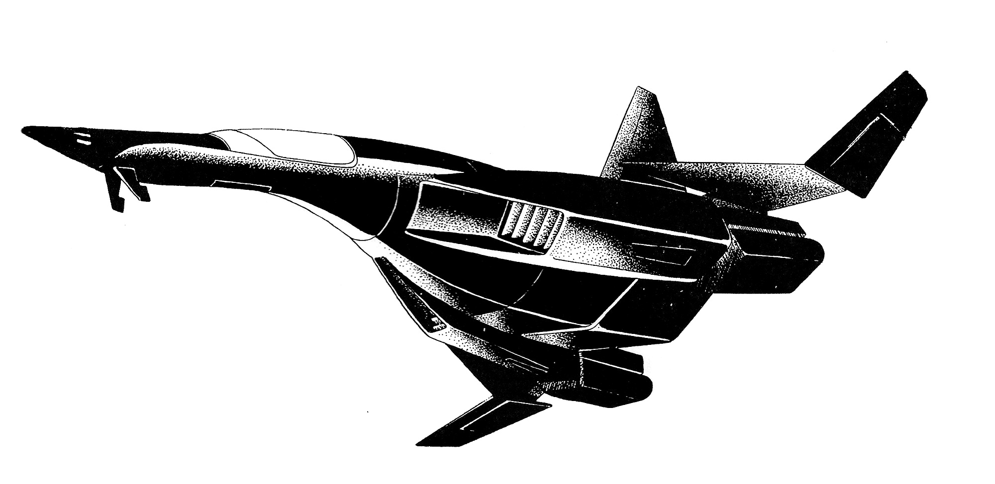 Northrop F-110 Falcon II Fighter/Interceptor Aircraft ...