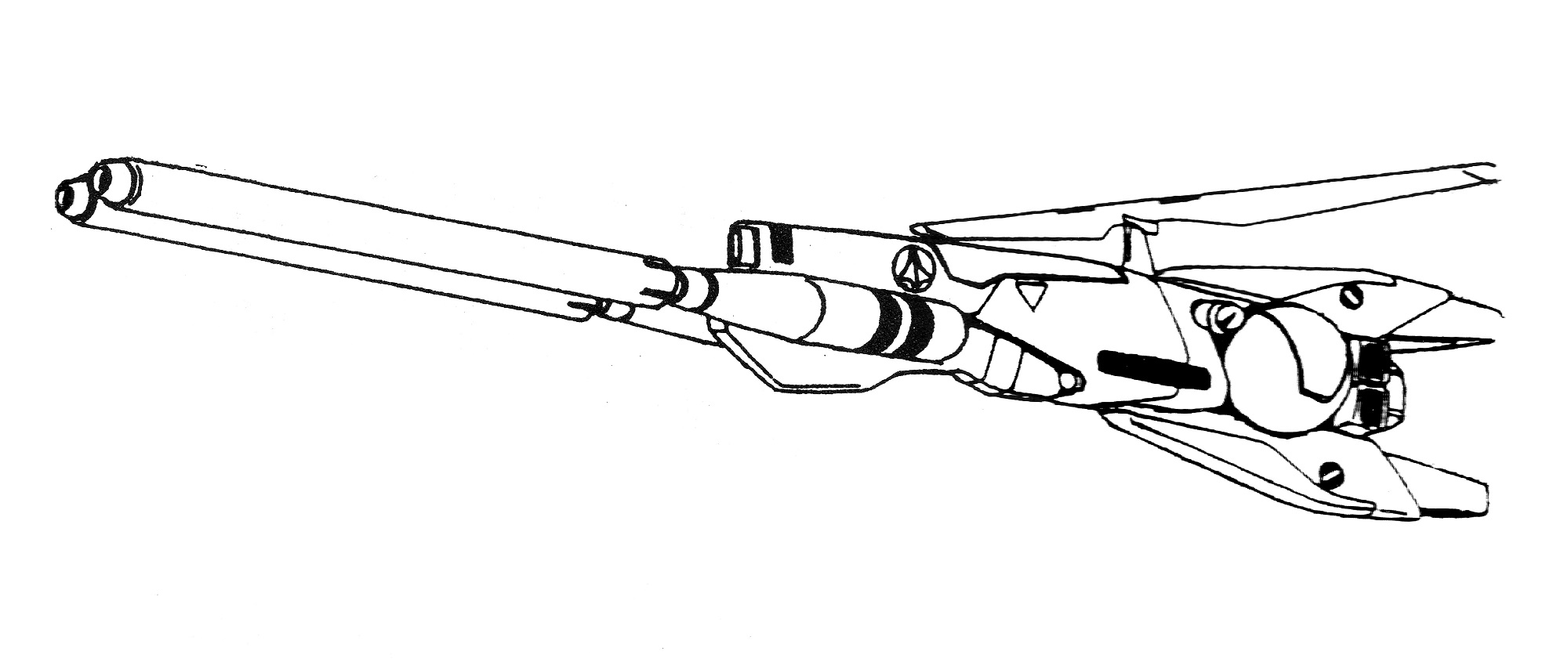 Lockheed SF-3A Lancer II Space Fighter 4