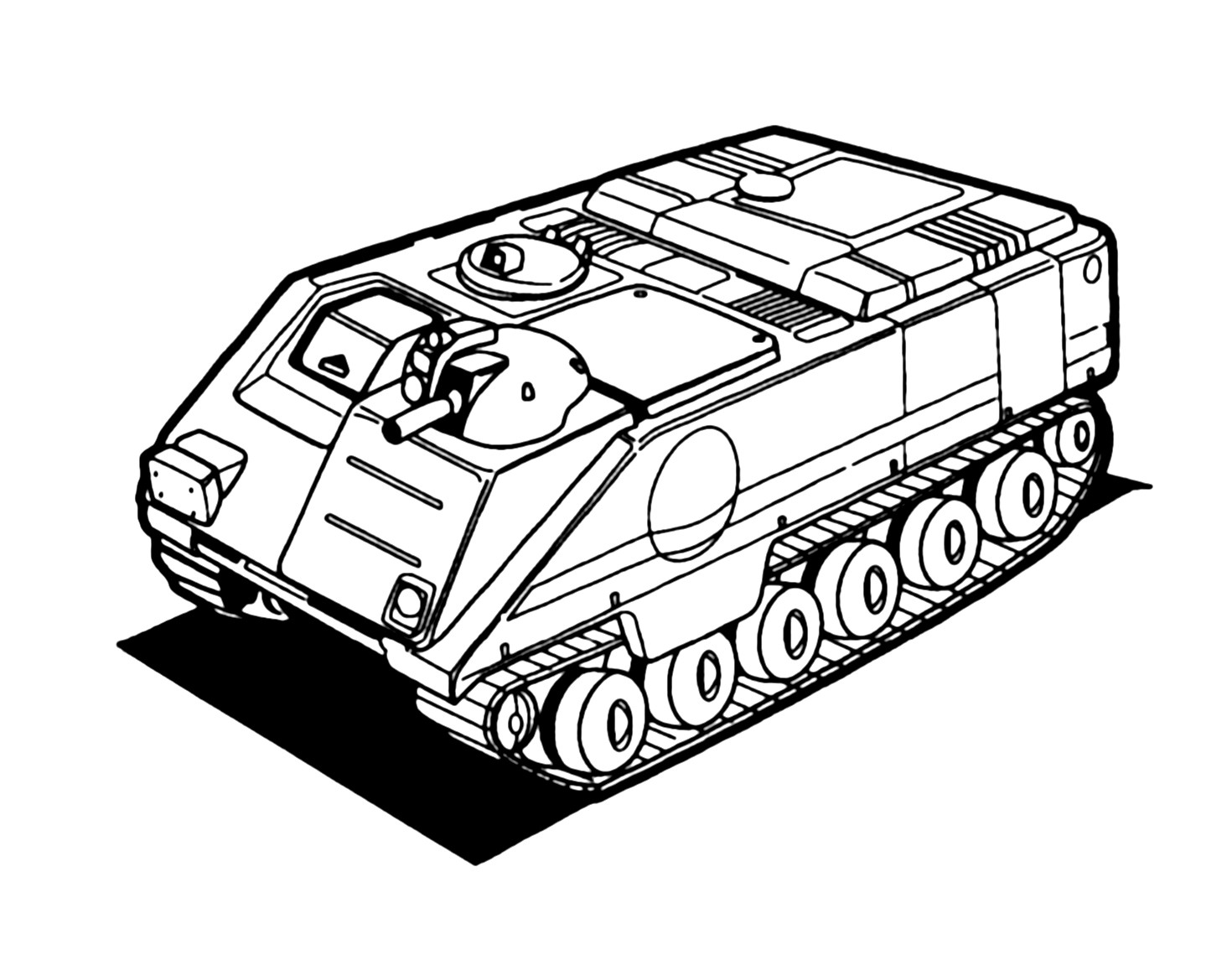 M9A4 Inca Armored Infantry Fighting Vehicle 1