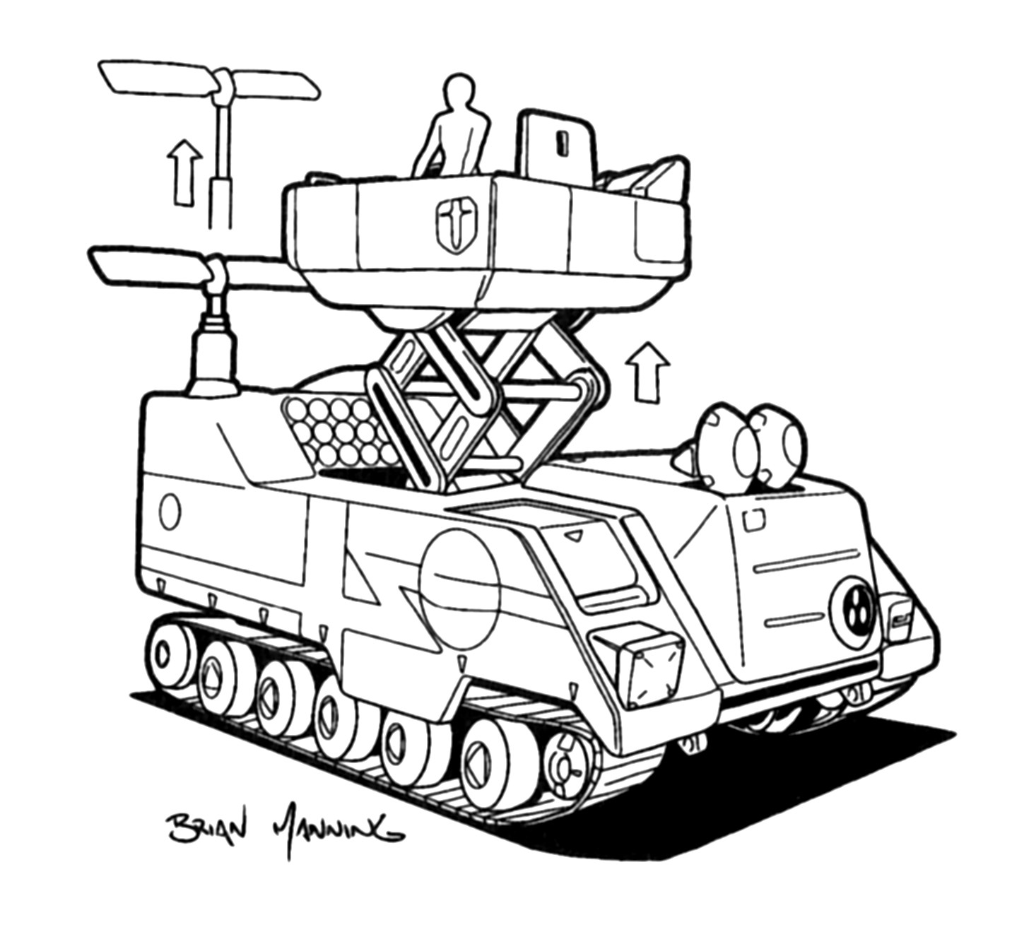M9A5 Inca Armored Command Carrier 1
