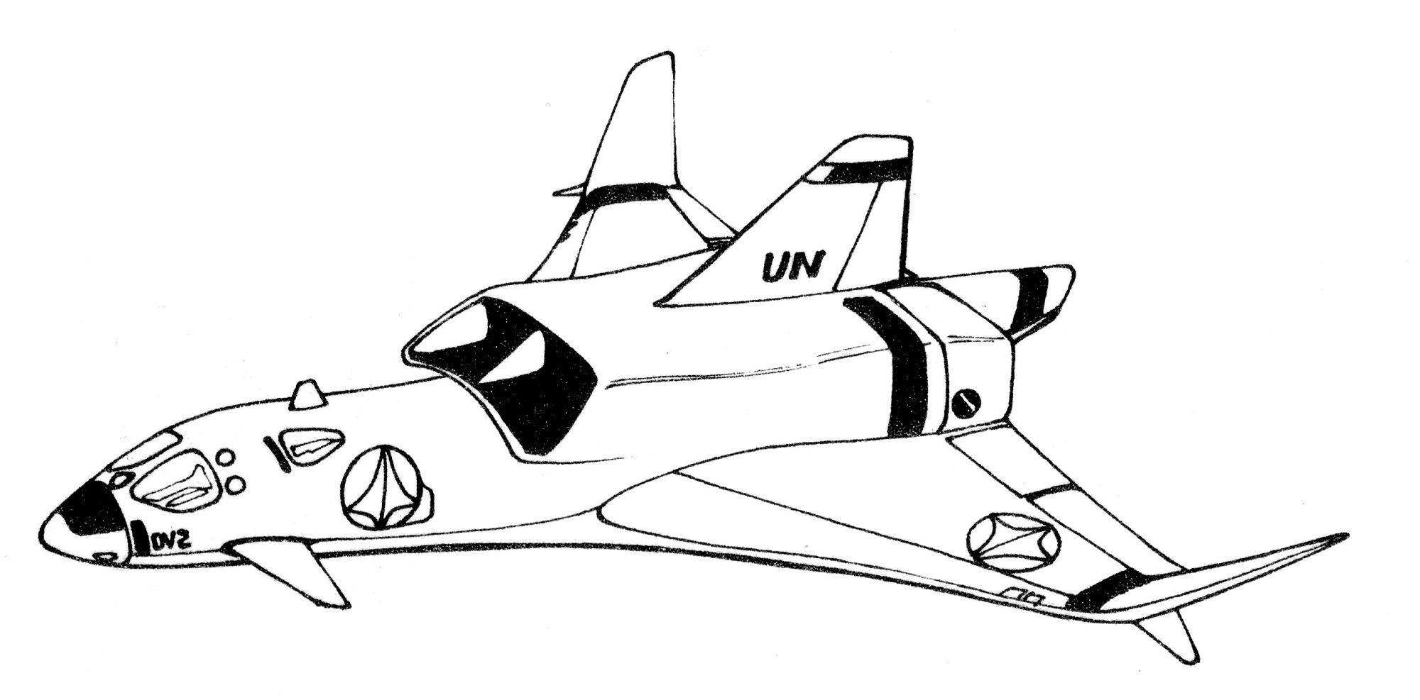 Rockwell International SC-27A Star Goose 1