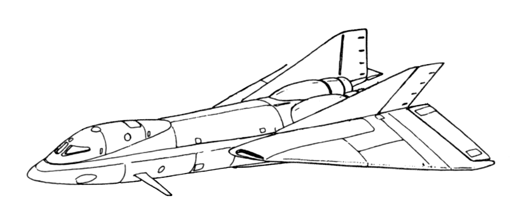 AS-14 Pegasus Cargo Assault Aerospacecraft 1