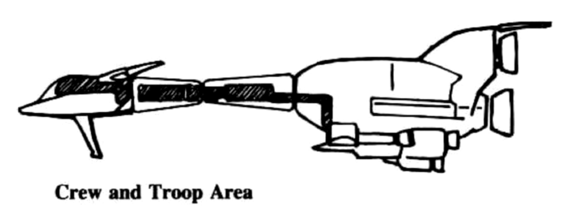 LCA-12 Horizont Cargo Dropship Aerospacecraft Alpha bay 20