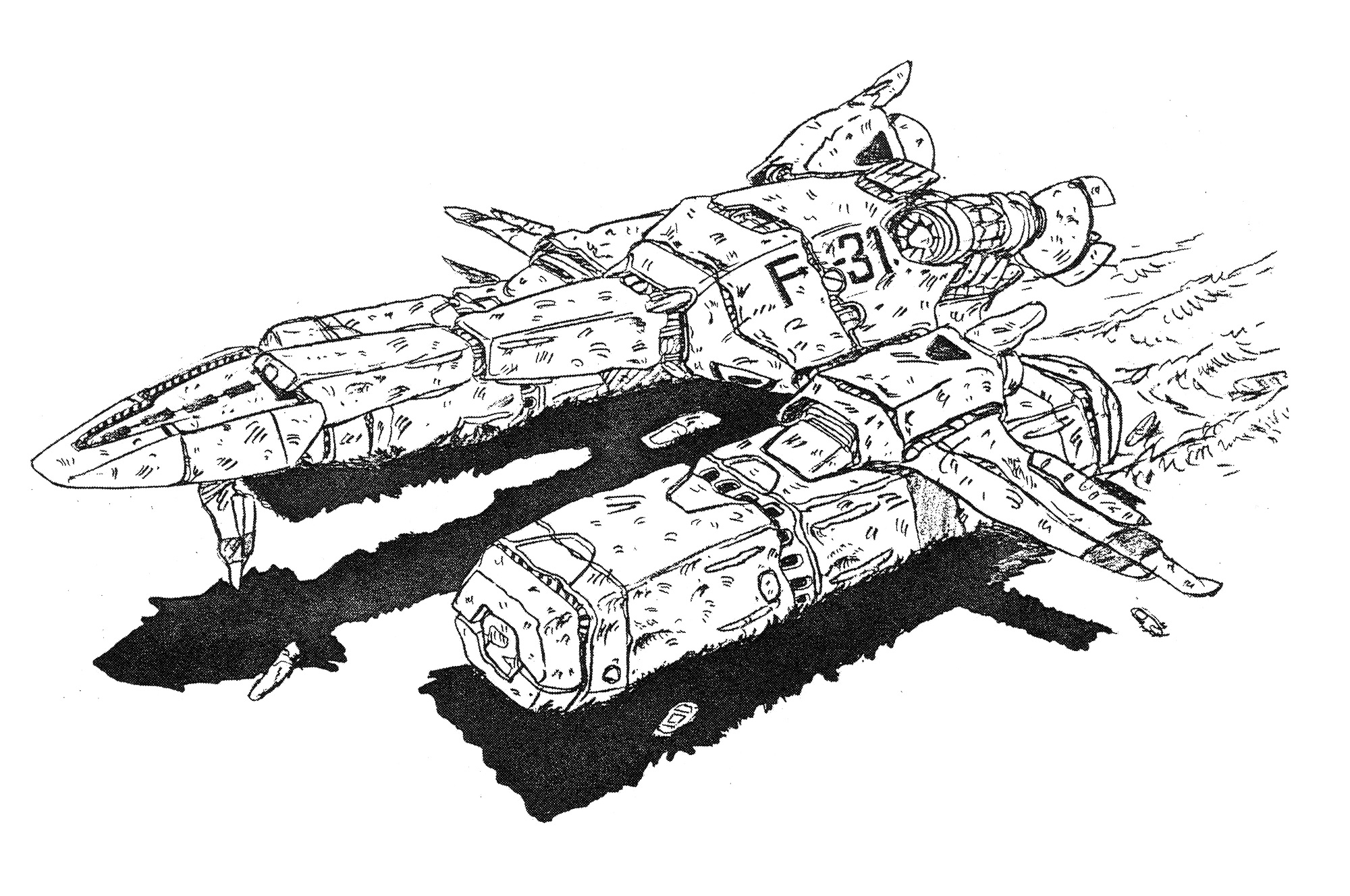 lca-12-horizont-cargo-dropship-aerospacecraft-wreck-1