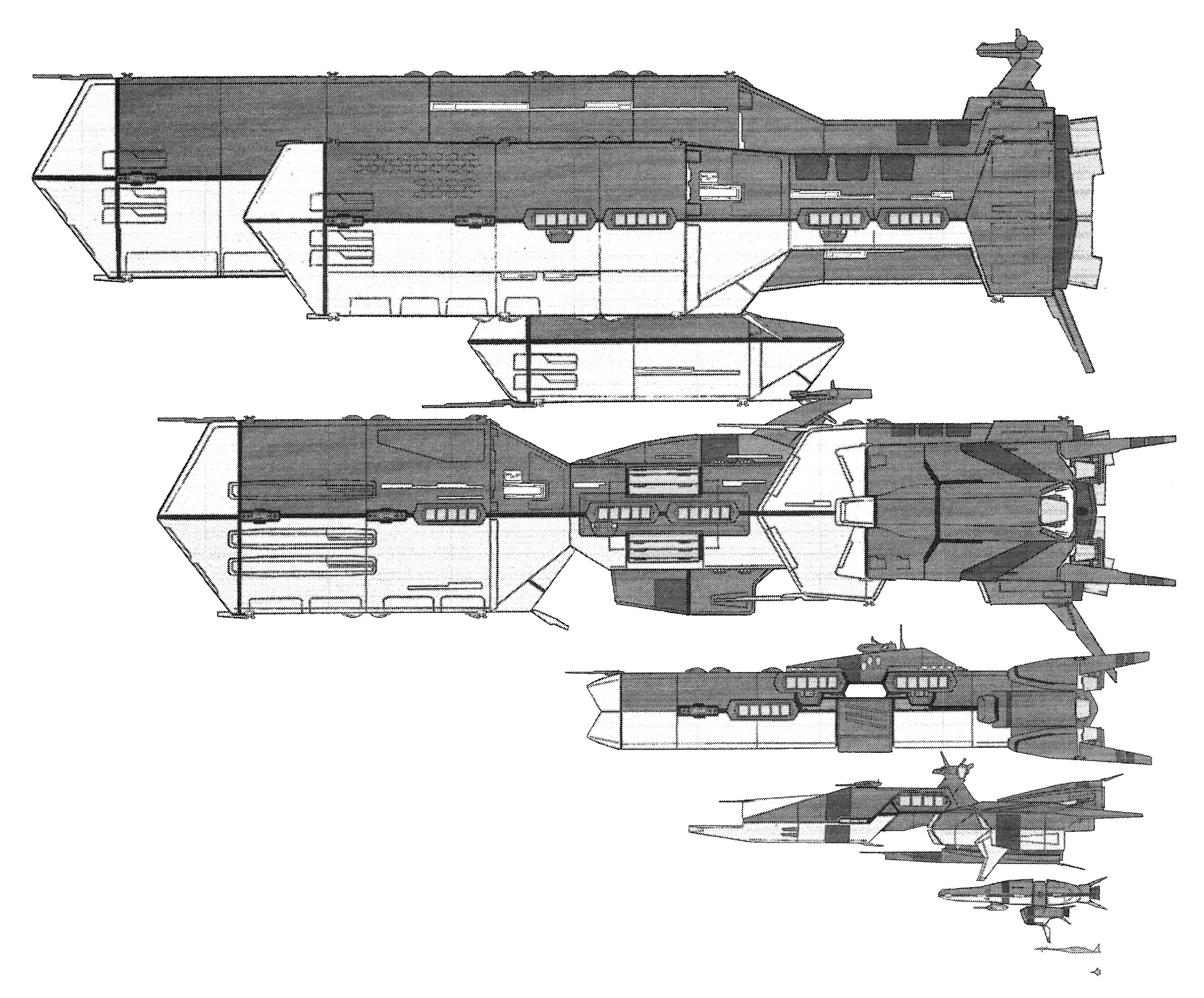 Liberator-class Super Dimensional Battlefortress refit 9