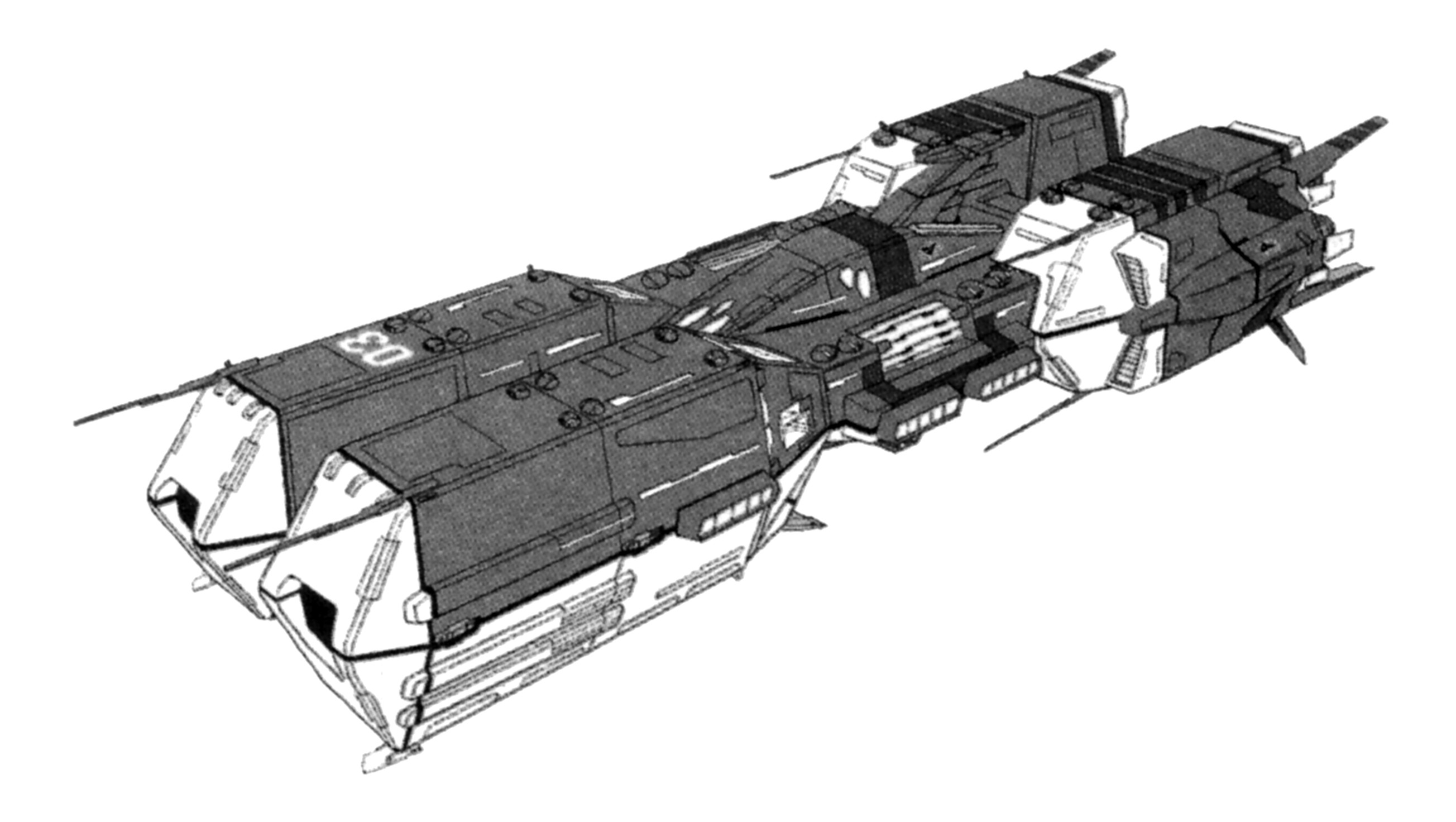 Pioneer-class Super Dimensional Fortress refit 1A