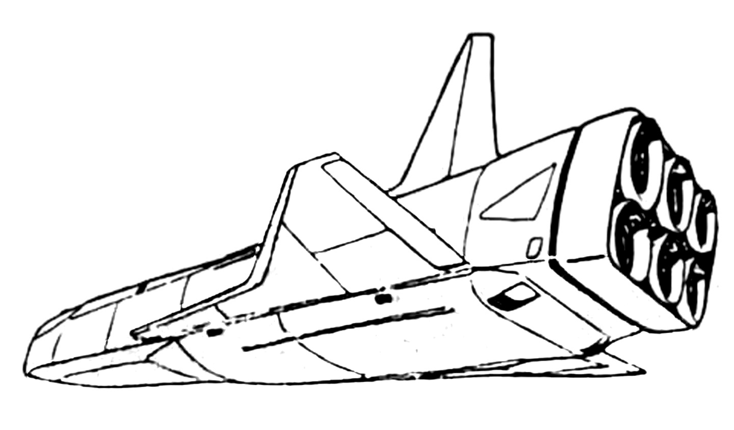SC-32 Roc Cargo Aerospacecraft 14