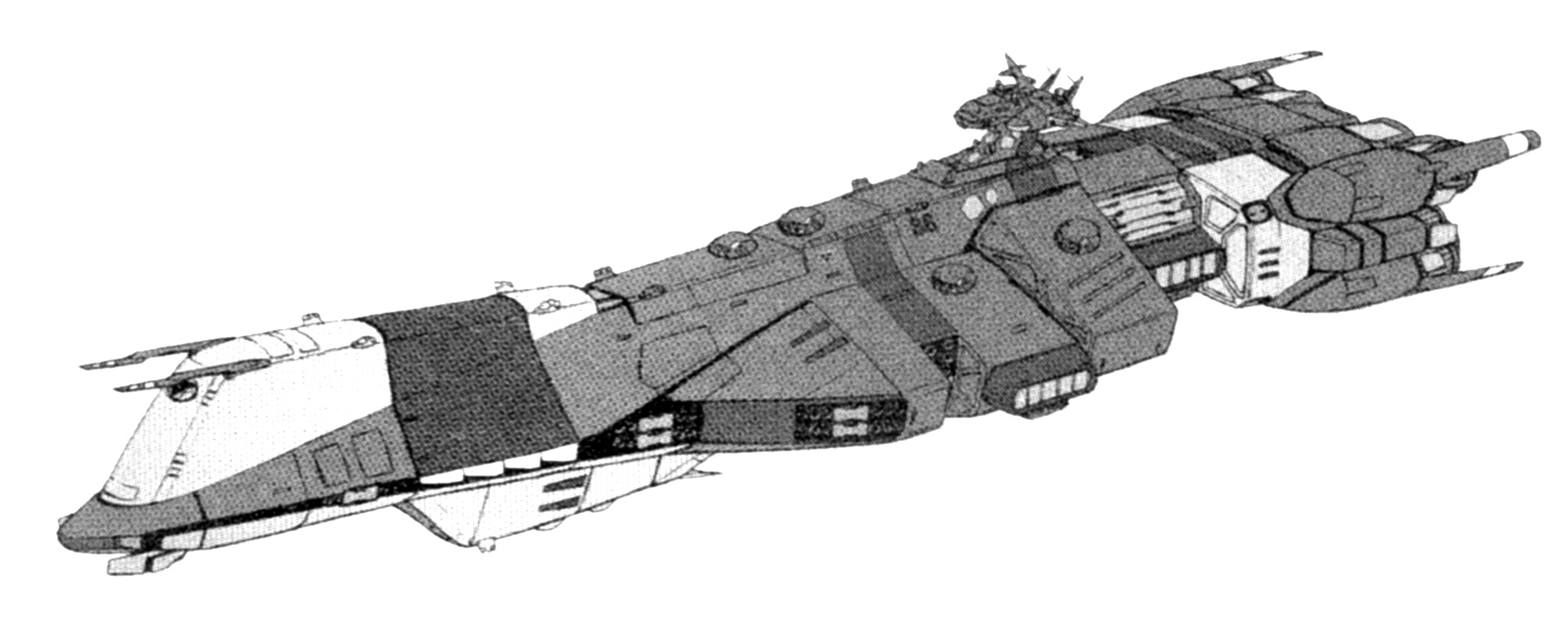 Tokogawa-class Super Dimensional Carrier post-refit 1