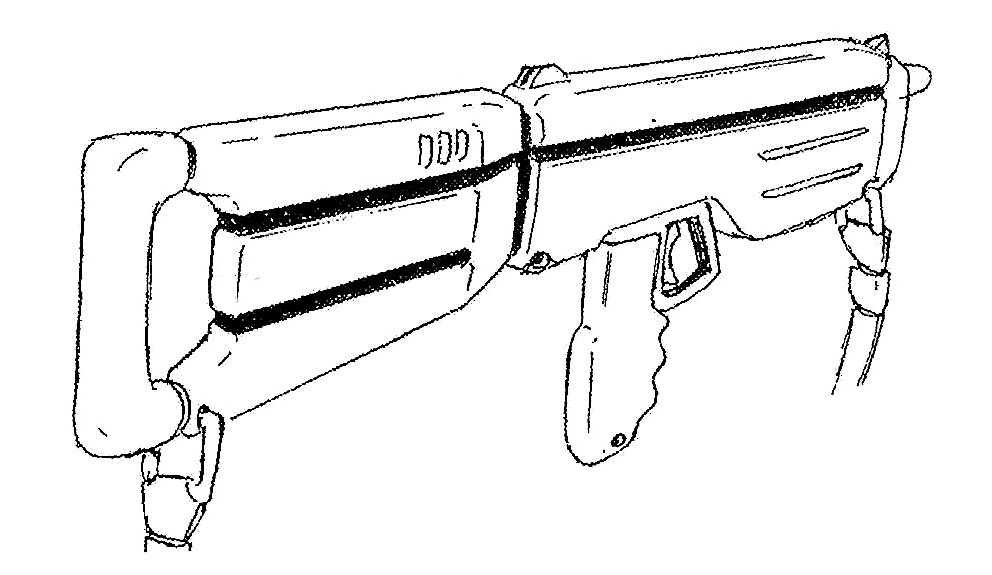 FAL-2 Pulse LAser Rifle 2