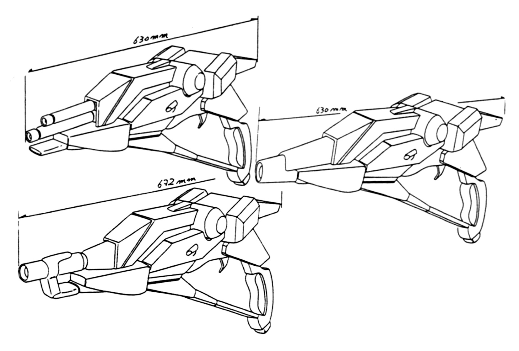 LL-8 Laser Weapons 1