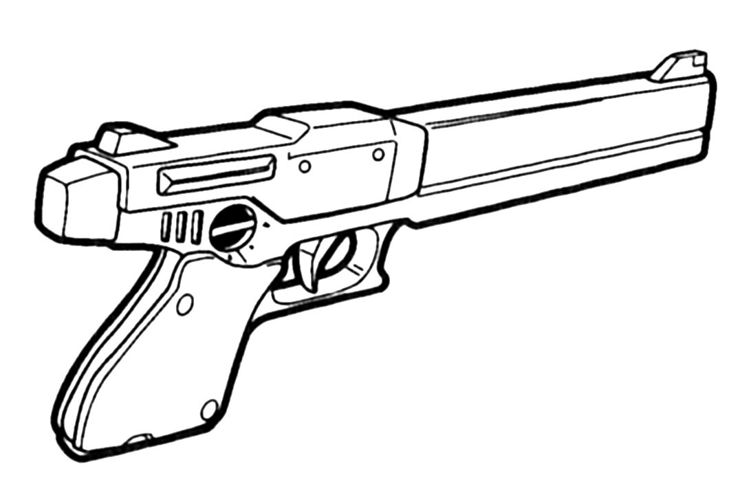 M-35 Ferret .45ACP Gas-Operated Pistol 1