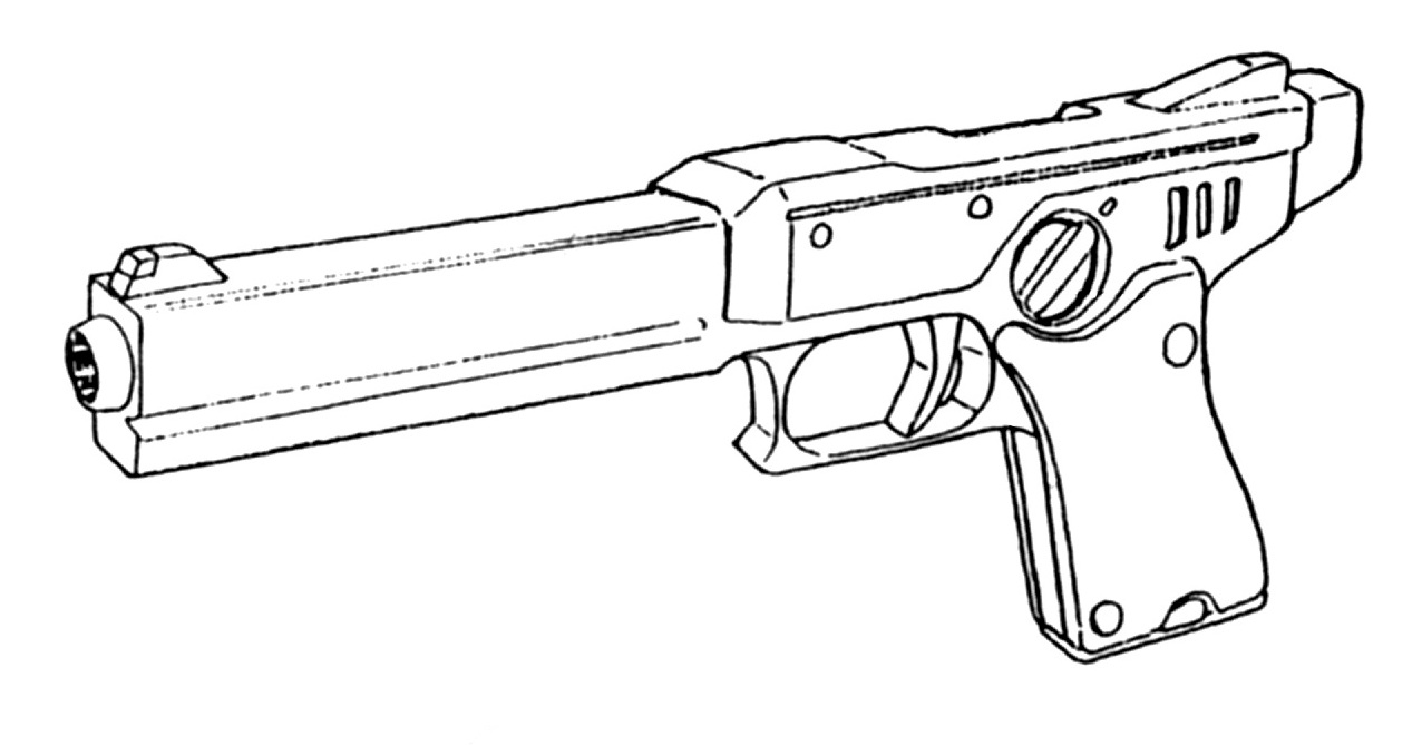 M-35 Ferret .45ACP Gas-Operated Pistol 3