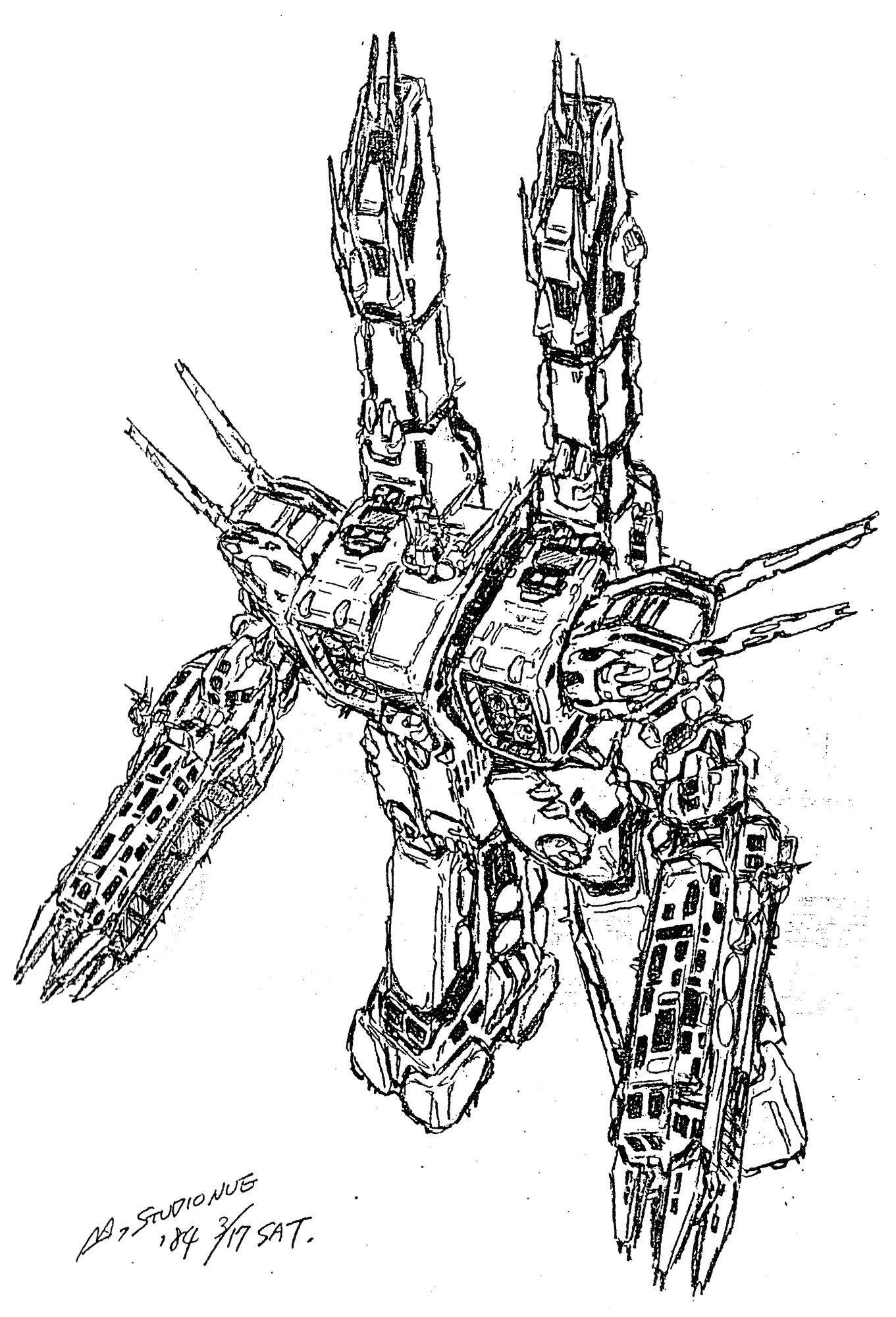 SDF-1 UES Macross Proposed Refit 10