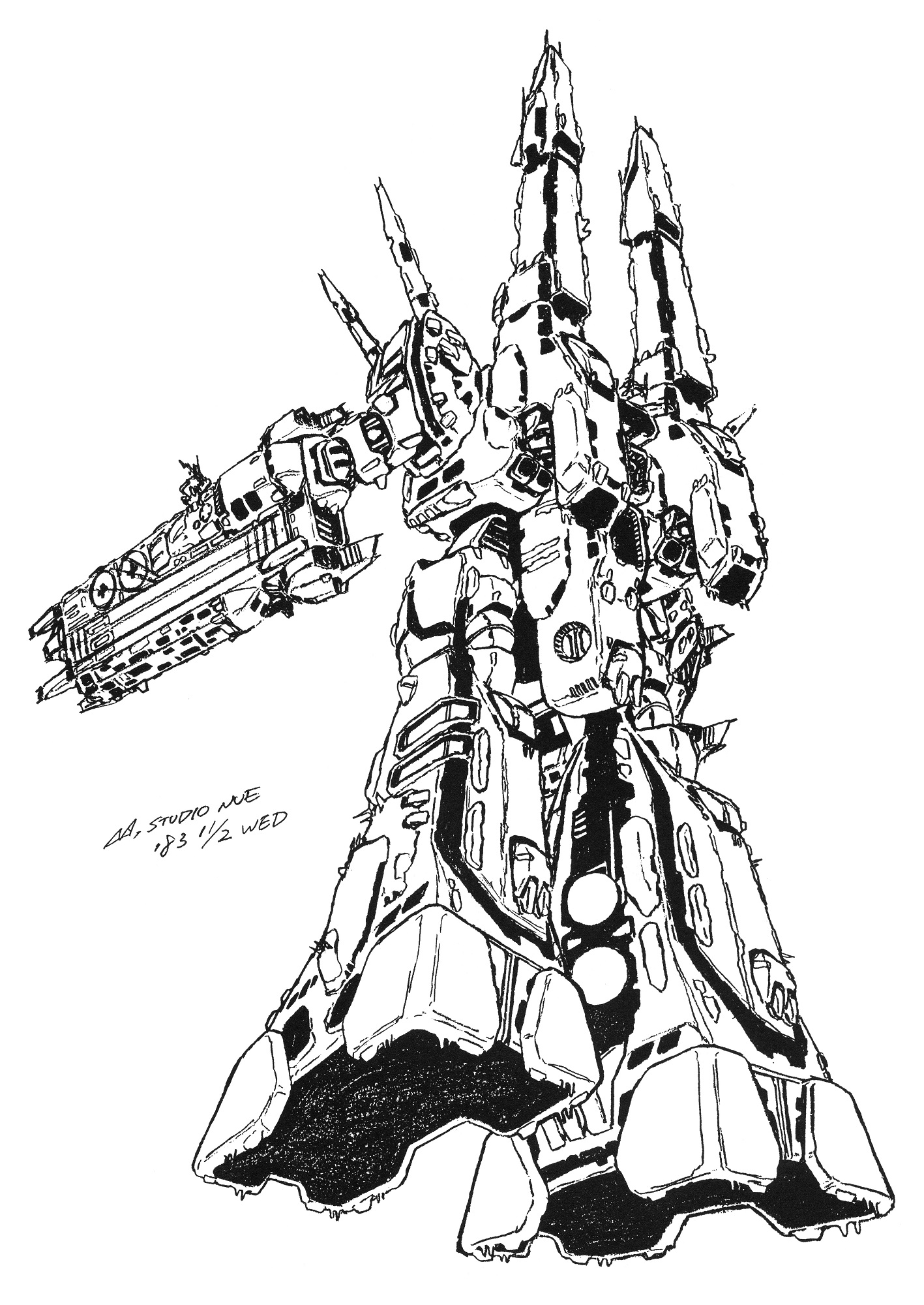 SDF-1 UES Macross Proposed Refit 11