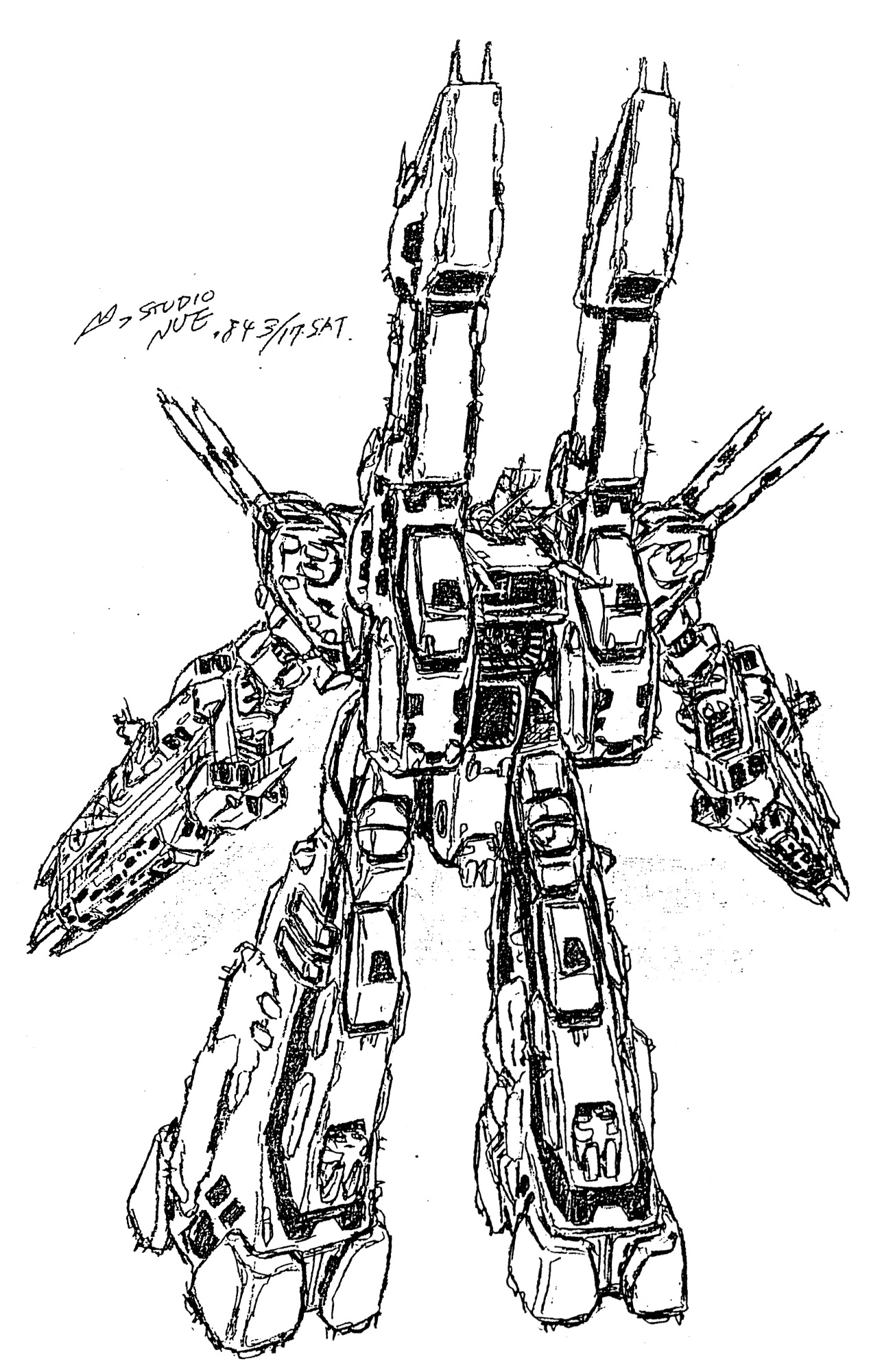 SDF-1 UES Macross Proposed Refit 13