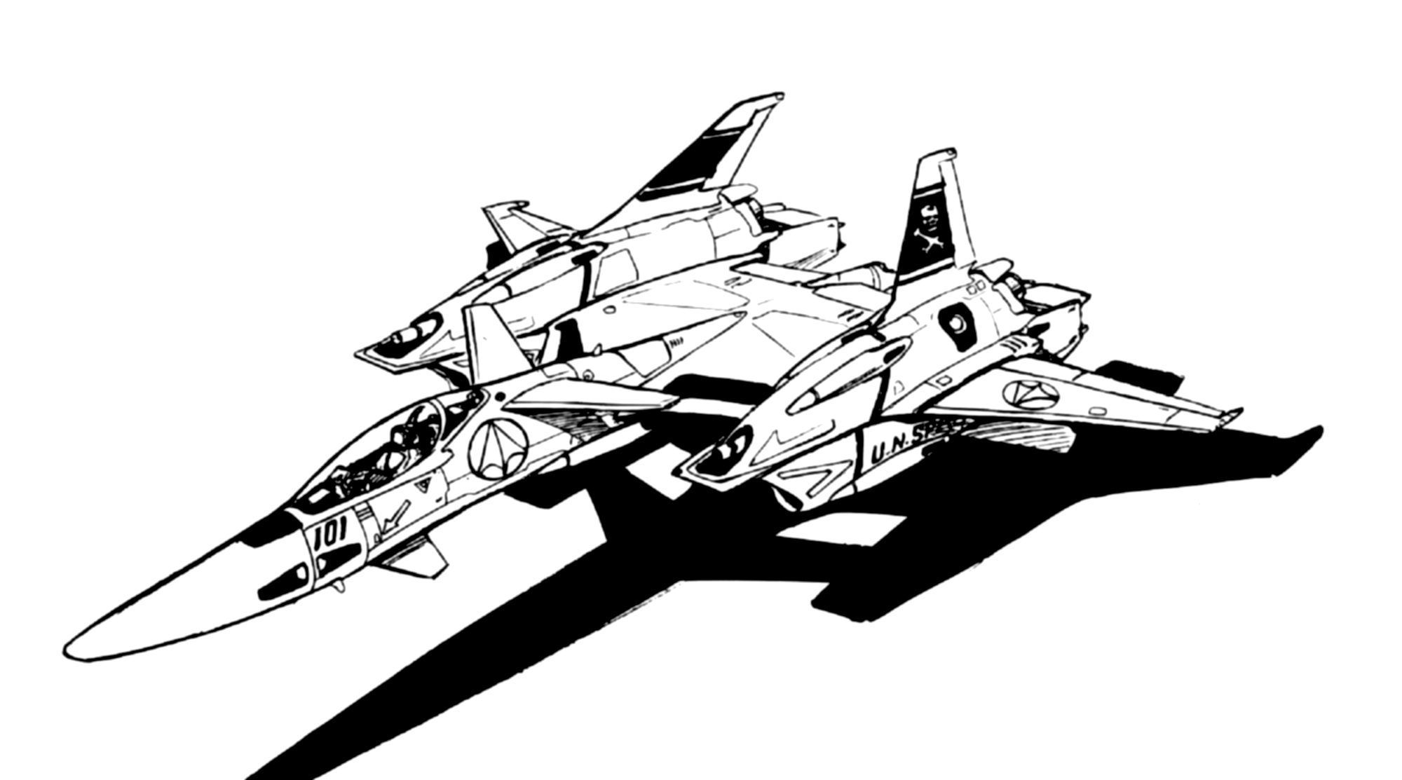 VF-4A Lightning Veritech Fleet Defense Fighter 2