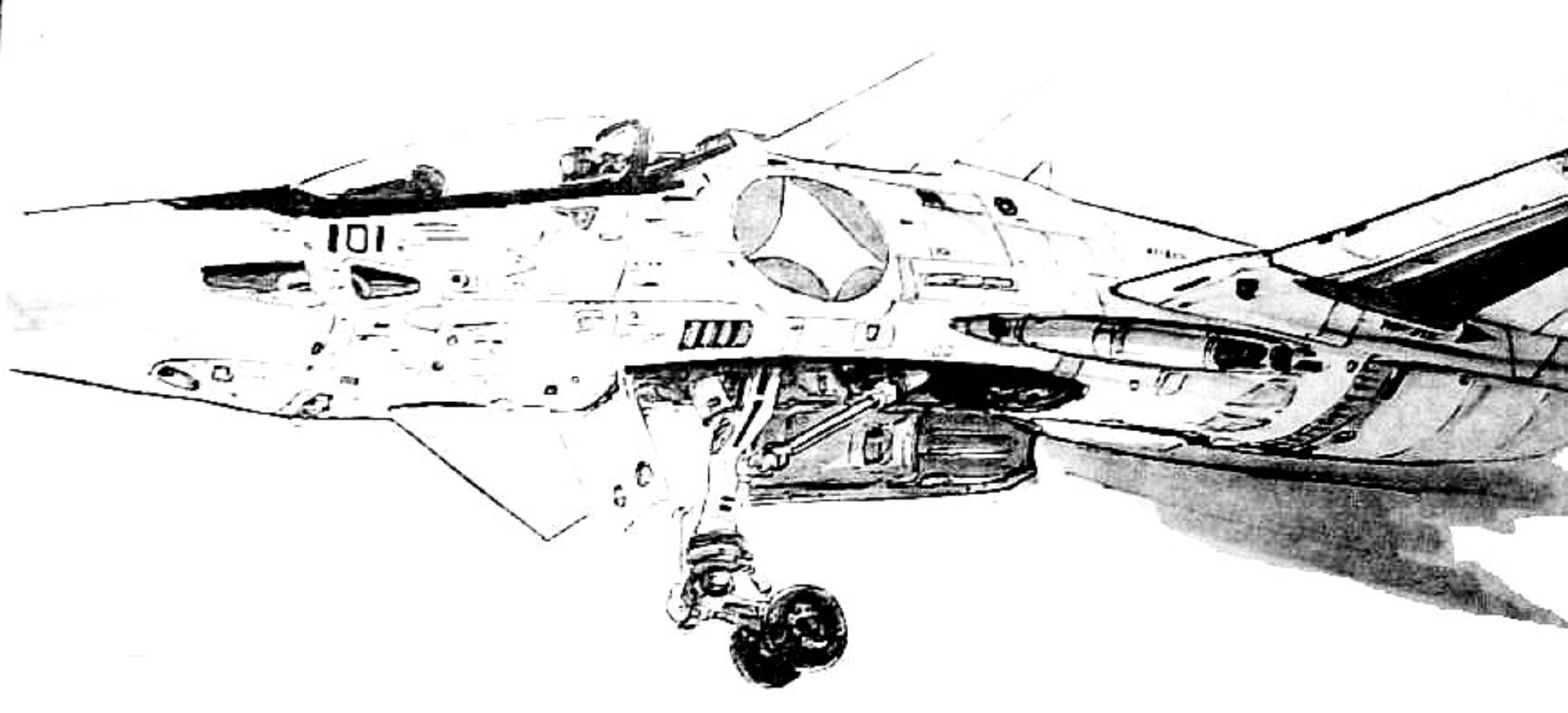 VF-4A Lightning Veritech Fleet Defense Fighter 20
