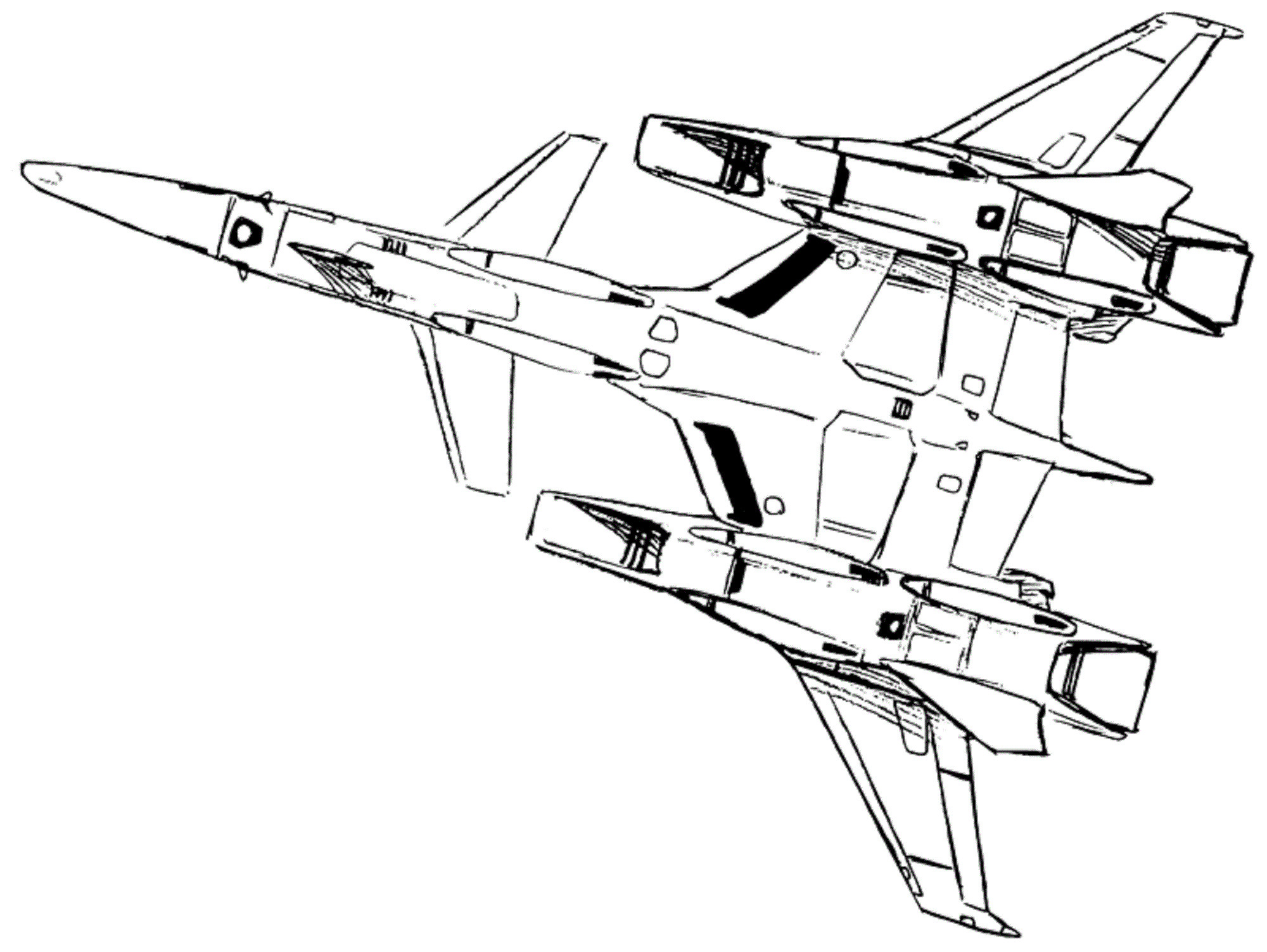 VF-4A Lightning Veritech Fleet Defense Fighter 8