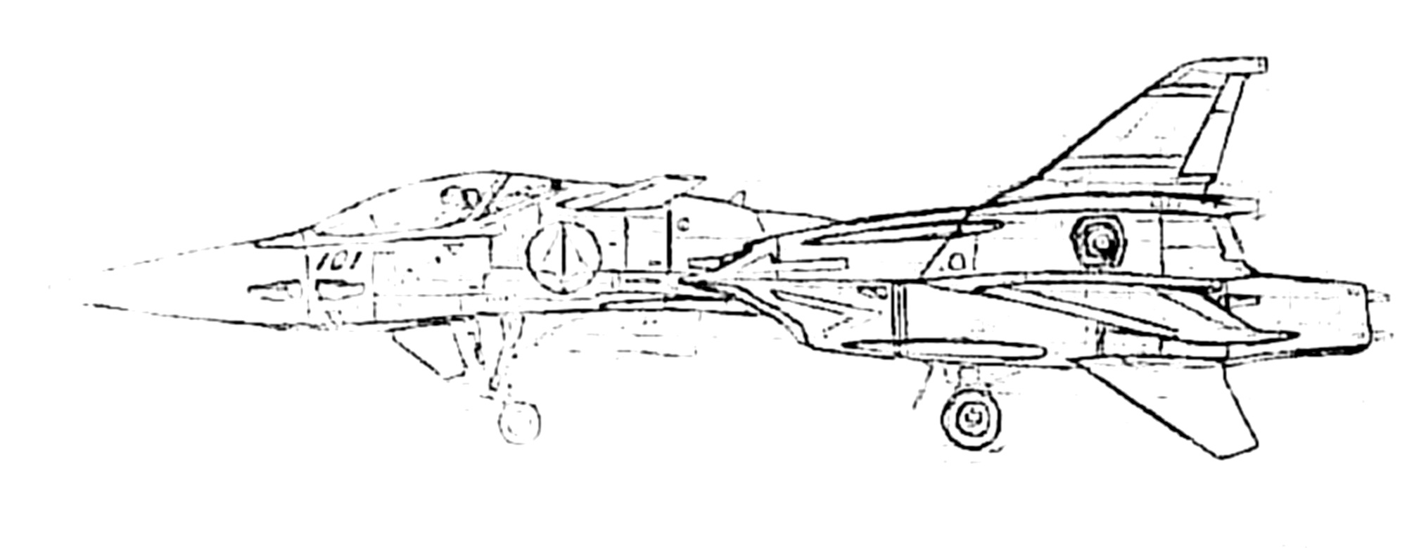 VF-4G Lightning Veritech Fleet Defense Fighter 8